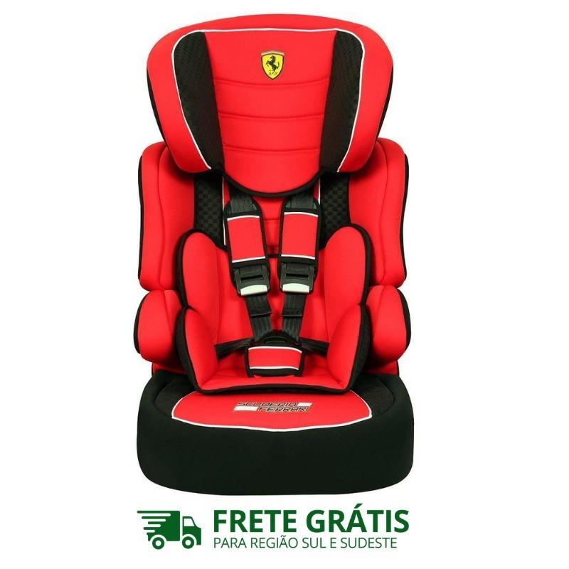 ddbc997f6 Cadeira Auto Ferrari Red 9 A 36 Kg - Beline - R$ 649,00 em Mercado Livre