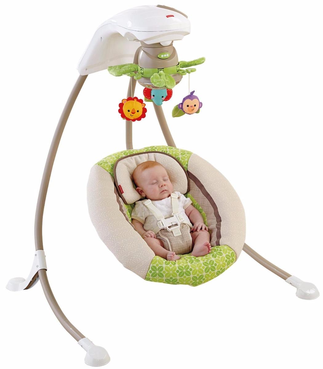 Cadeira balan o bebe fisher price deluxe cradle 39 n swing for Espejo retrovisor bebe fisher price