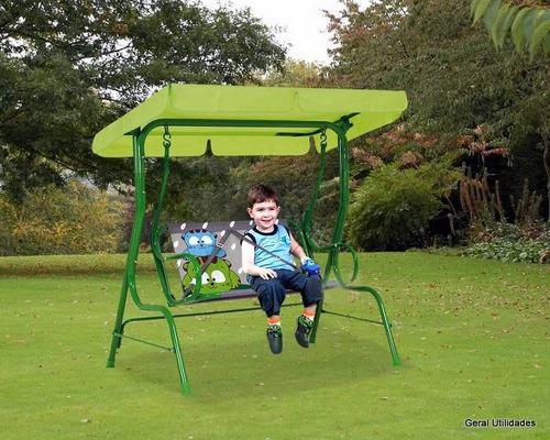 cadeira balanço infantil gatoons
