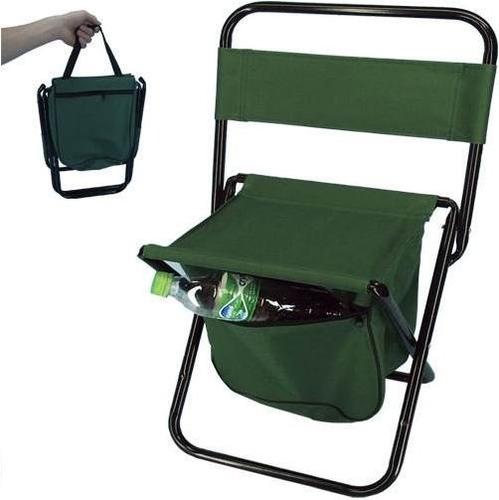 cadeira banqueta camping pesca dobrável praia piscina- verde