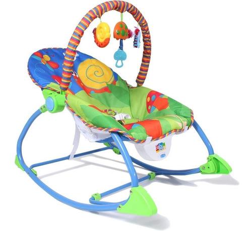 cadeira bebê descanso vibratória musical baby style animais