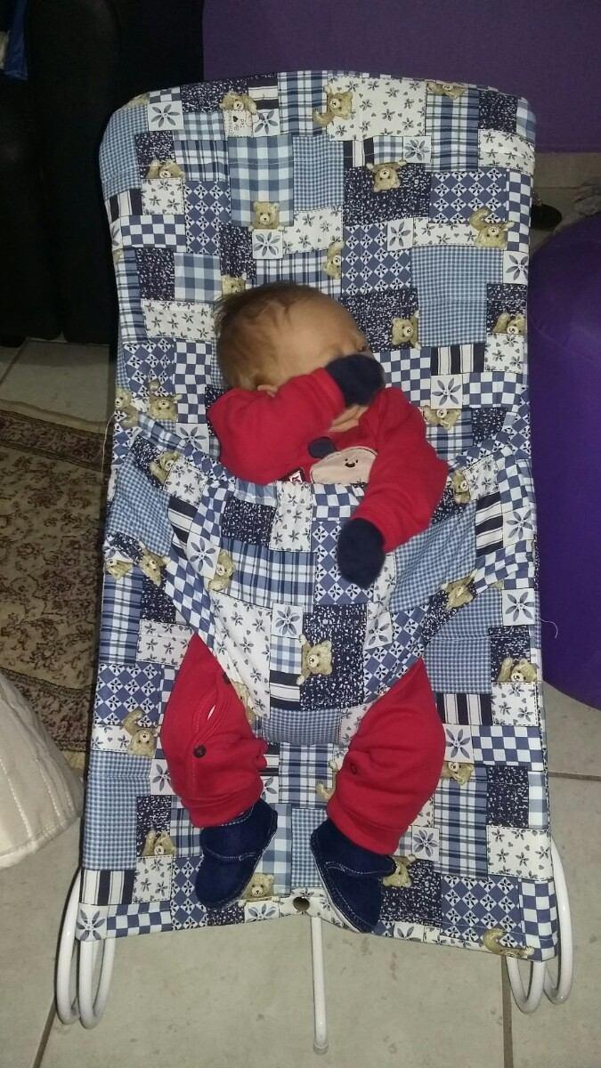 cadeira bebe colinho anti refluxo r 249 90 em mercado livre. Black Bedroom Furniture Sets. Home Design Ideas