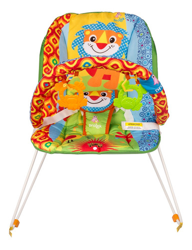 cadeira cadeirinha de descanso bebe leãozinho protek