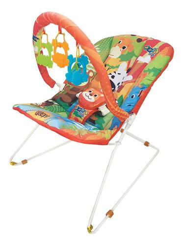 cadeira cadeirinha de descanso bebe musical savana maxibaby