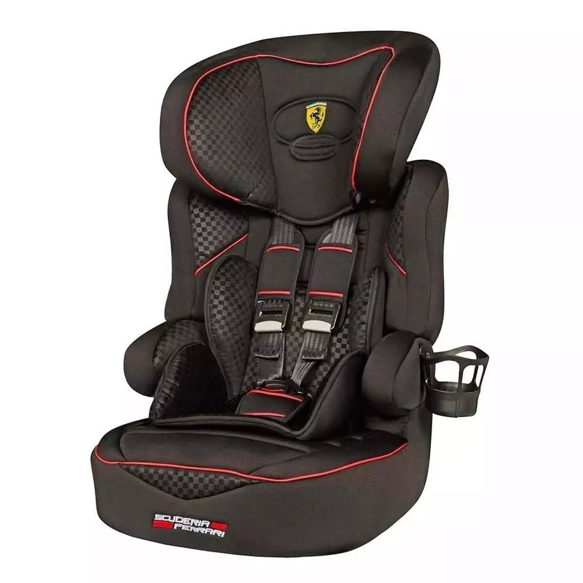 e523c7ae40289 cadeira carro bebê ferrari black beline sp - 9 a 36 kg preta. Carregando  zoom.