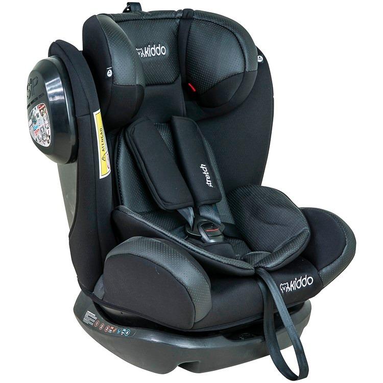 Cadeira carro reclinavel kiddo stretch 0 a 36kg preta r for Sillas para carro kiddo