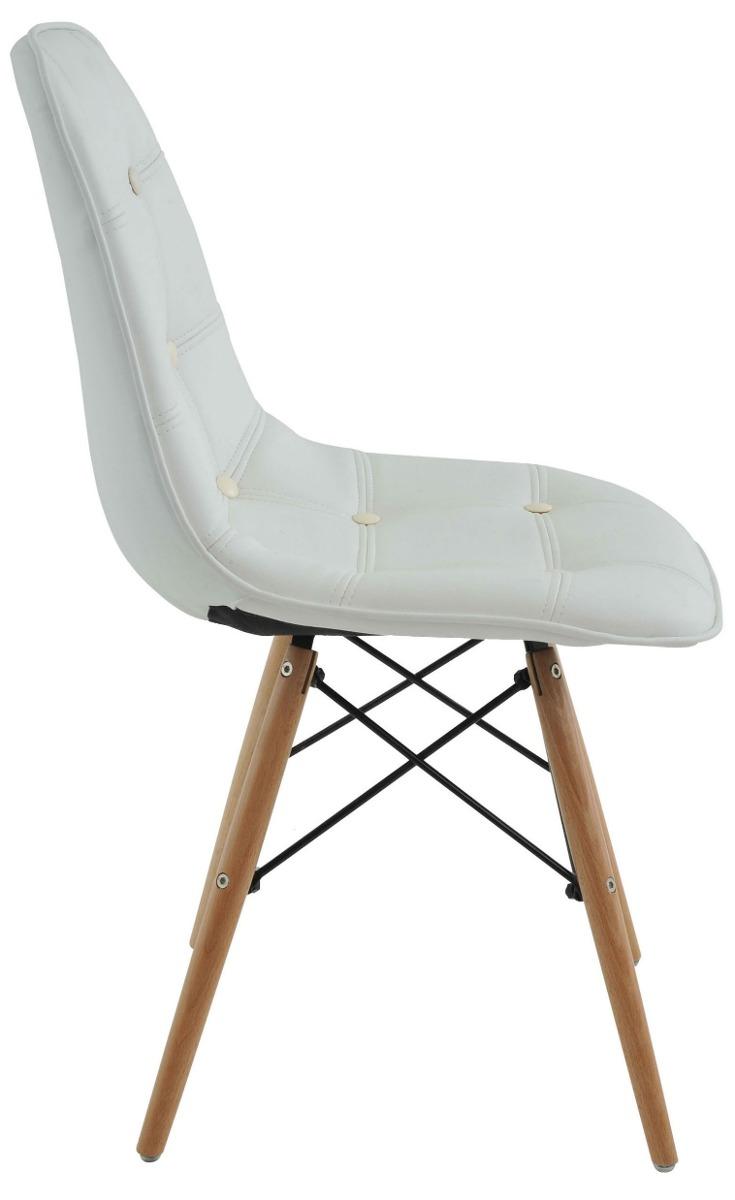 cadeira charles eames wood daw base madeira botone branco r 219 90 em mercado livre. Black Bedroom Furniture Sets. Home Design Ideas
