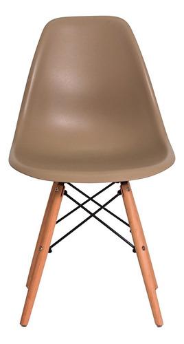 cadeira charles eames wood design eiffel varias cores