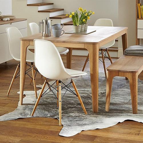cadeira charles eames wood jantar cozinha dsw eiffel  cores
