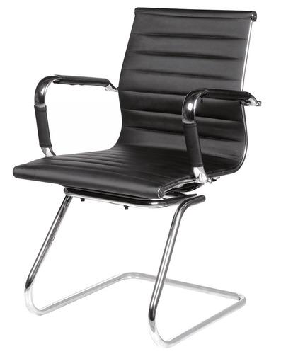 cadeira com estrutura metálica couro ecológico multivisão