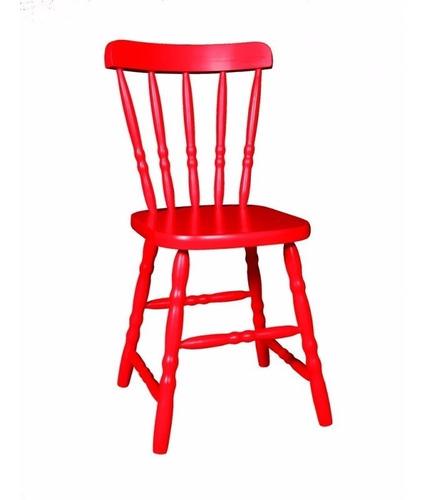cadeira country colorida madeira decoração,sala,bar oferta