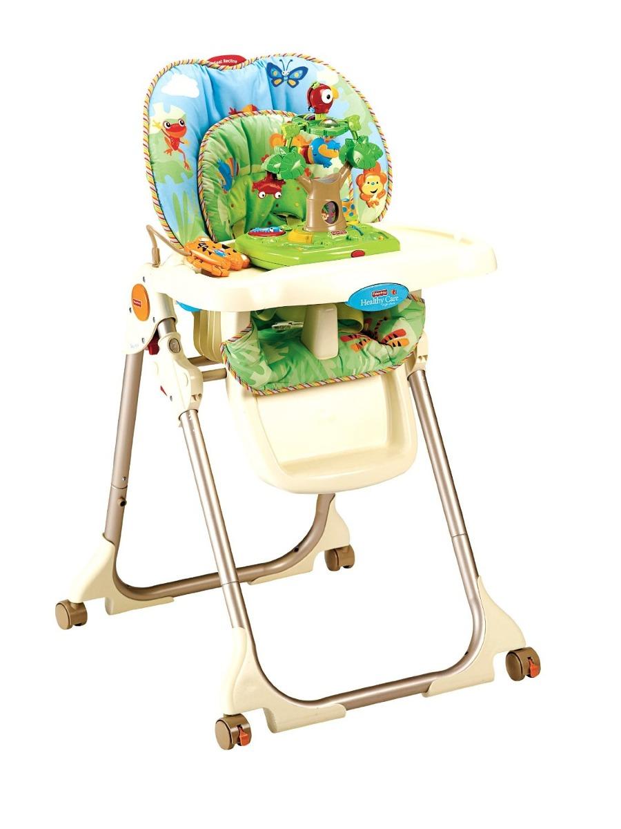 Cadeira De Alimenta 231 227 O Fisher Price Rainforest R 1 449