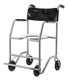 e89f7c42d Cadeira De Rodas Para Banho E Necessidades - Acessibilidade e Mobilidade no Mercado  Livre Brasil
