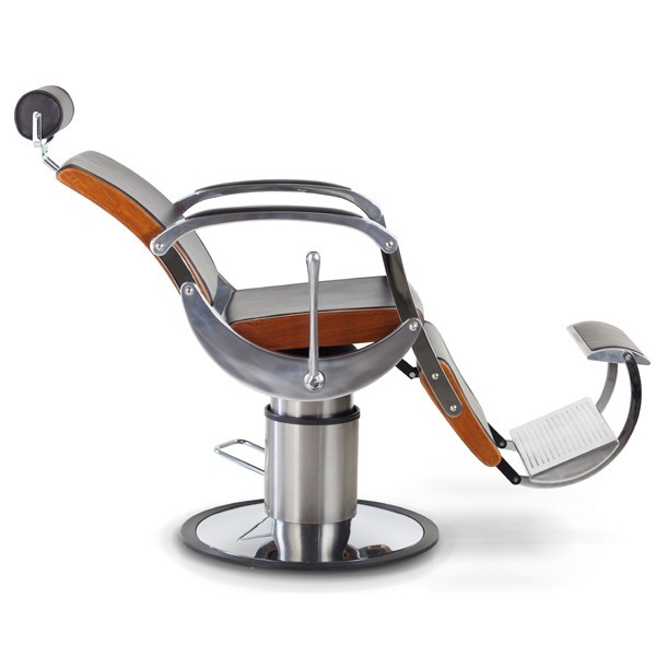 fb01163acc Cadeira De Barbeiro Reclinável Poltrona Ferrante Typo A - R  10.799 ...