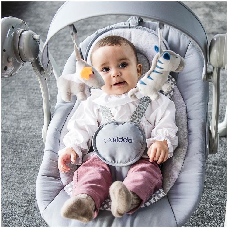 cc6198a27 Cadeira De Bebê Nana Neném Cinza Bebê Mimo 1042aczs - R$ 519,00 em ...
