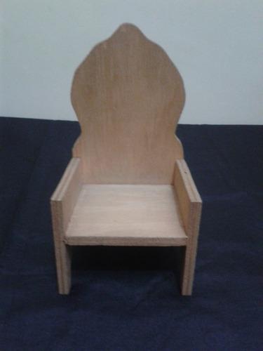 cadeira de bonecas ou enfeite!frete grátis p/ sp capital