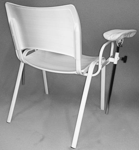 cadeira de coleta de sangue modelo iso cor branca