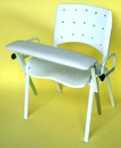 cadeira de coleta de sangue modelo tábua frontal estofada