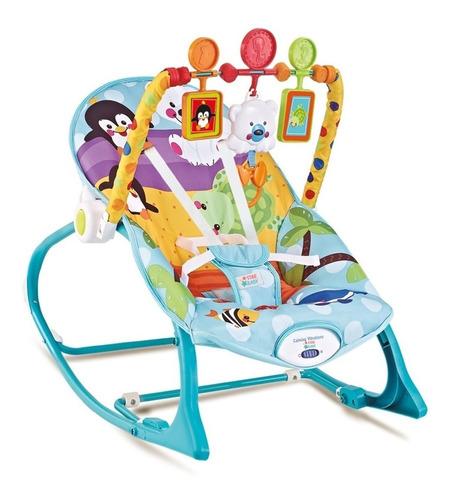 cadeira de descanso bebê vibratória balanço 18kg star baby