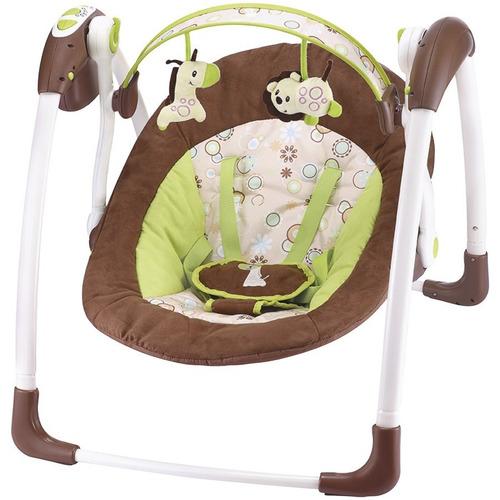 cadeira de descanso bebe mimo kiddo 7 musicas balanço