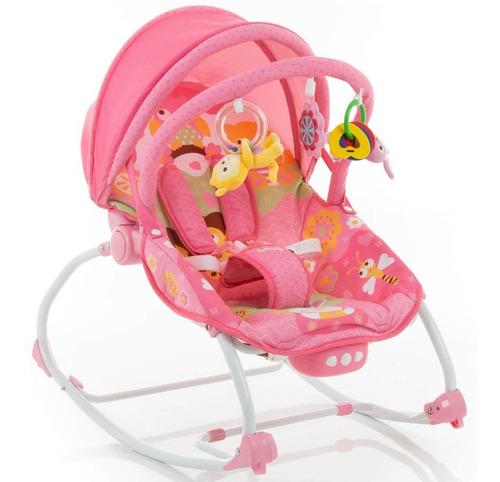cadeira de descanso bouncer sunshine baby pink - safety 1st