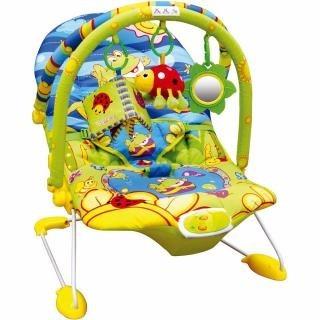cadeira de descanso musical vibratória jardim - dican
