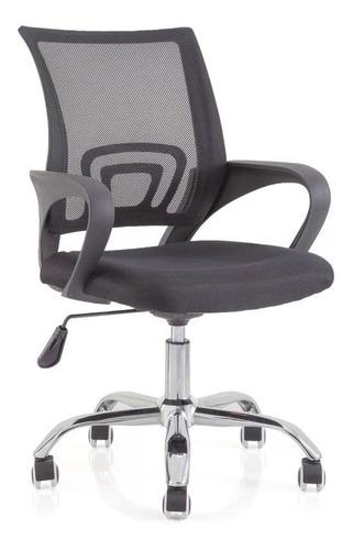 cadeira de escritório giratória em tela mesh presidente