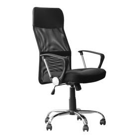 Cadeira De Escritório Tander Tce11 Ergonômica  Preta Con Estofado Do Mesh