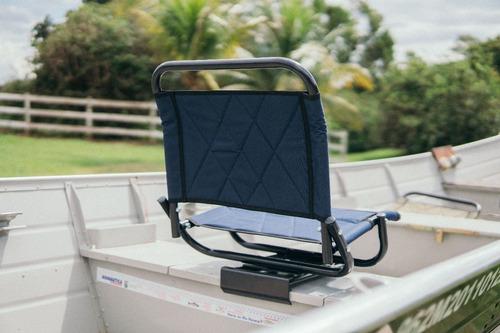 cadeira de pesca para barco giratória dobrável fishery