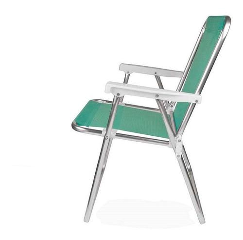 cadeira de praia alumínio sannet anis 2278 mor