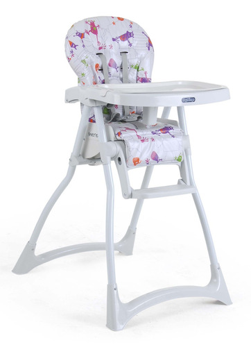 cadeira de refeição burigotto merenda monstrinhos s/ juros