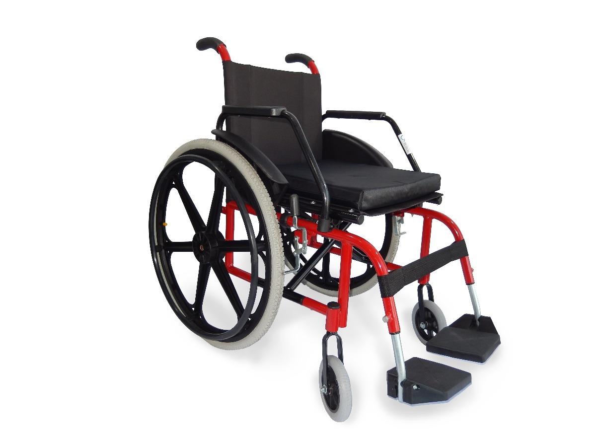 fc92c180acd3 Cadeira De Rodas Ate 120kg Resistente E Conforto - R$ 1.059,90 em ...