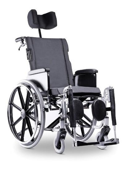 51b1a0e76 Cadeira De Rodas Avd Alumínio Reclinável 46 Grafite Ortobrás - R ...