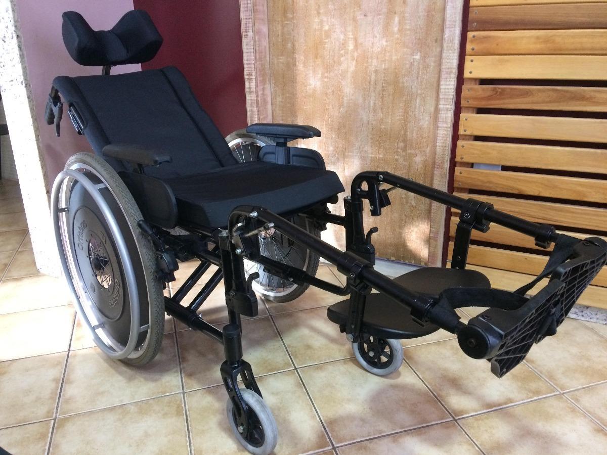 dc6a8d8f5 cadeira de rodas avd alumínio reclinável dobrável ortobras. Carregando zoom.