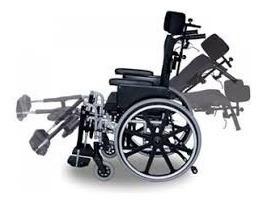 724dab90e Cadeira De Rodas Avd Alumínio Reclinavel Ortobras - R$ 2.920,00 em ...