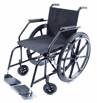 e9fcf211f Cadeira De Rodas Semi-obeso Simples Prolife Pl 5002 100kg - R$ 759 ...