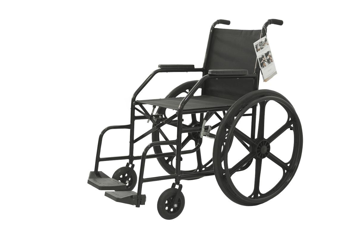 6379e40c1 Cadeira De Rodas Simples Dobrável - Prolife - R$ 444,00 em Mercado Livre