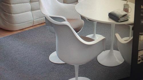cadeira design tulipa saarinen sem braço