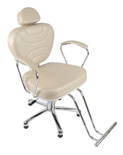 cadeira diamante reclinavel maquiagem sobrancelha