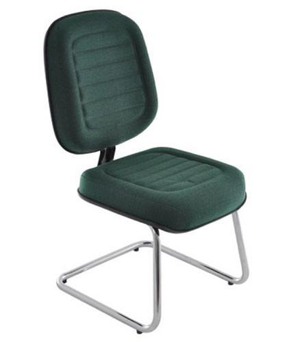 cadeira diretor gomada pés fixo continuo cromado campinas sp