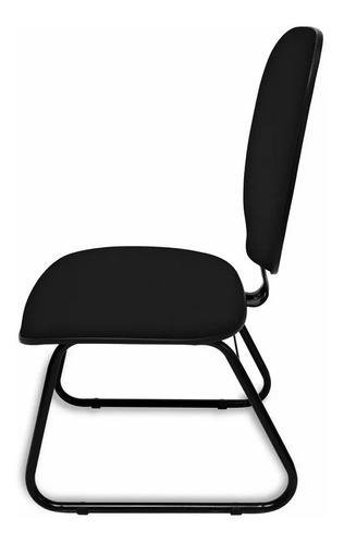 cadeira diretor sky c/ lamina de aço reforçada - igrejas