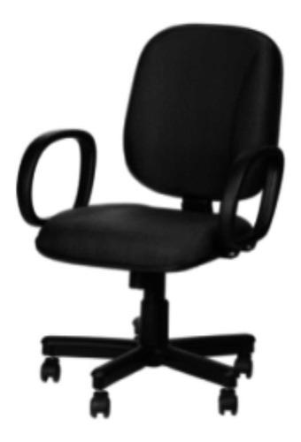 cadeira diretor tecido (nova) com relax a gás - abba moveis