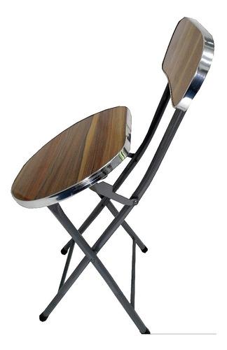 cadeira dobravel banqueta banco alto articulavel desmontavel