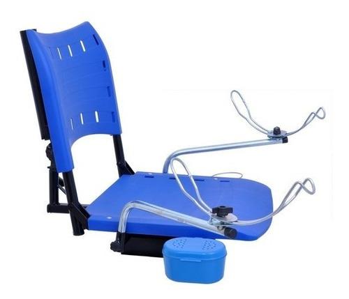 cadeira dobrável p/ barco com acessórios