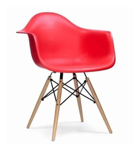 cadeira eames wood com braço