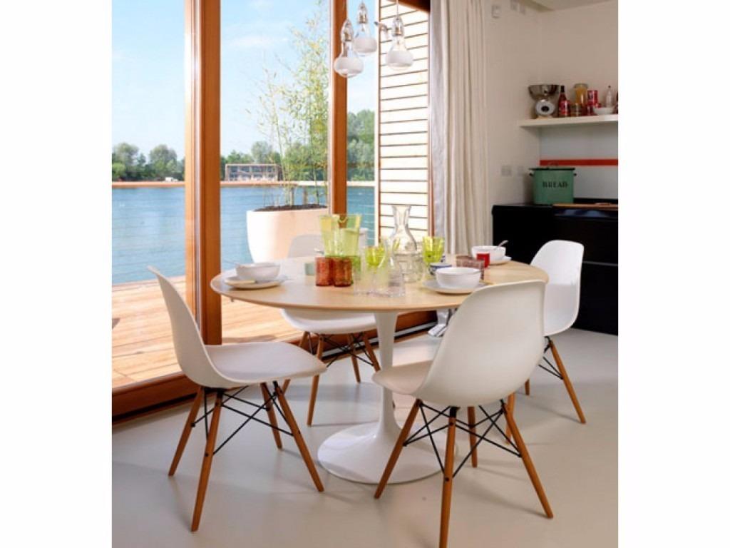 Cadeira Eiffel Dsw Charles Eames Sem Braço Pés Madeira R$ 209 90  #7C3D19 1024x768