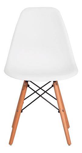 cadeira eiffel eames base madeira várias cores