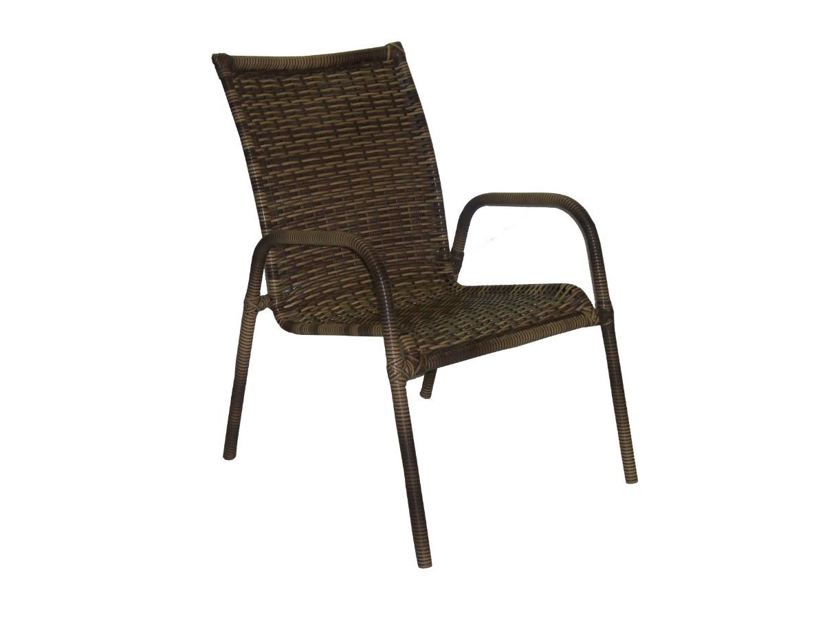 #3D3125 Cadeira Em Fibra Sintética Cadeira De Varanda R$ 180 00 em Mercado  1200x900 px cadeira de balanço para varanda @ bernauer.info Móveis Antigos Novos E Usados Online