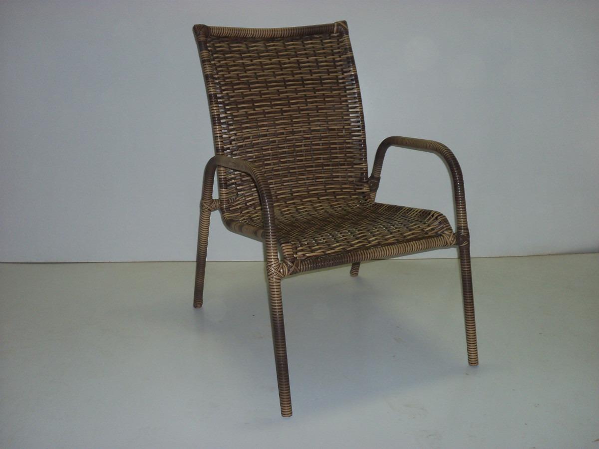 Cadeira Em Fibra Sintética Cadeira De Varanda R$ 180 00 em Mercado  #5C4B39 1200x900