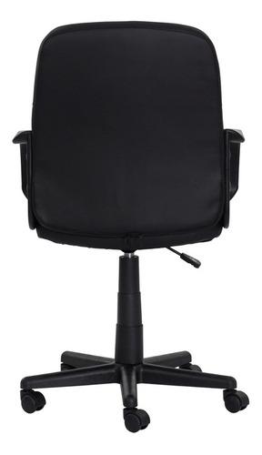 cadeira escritório black diretor preta base giratória altura